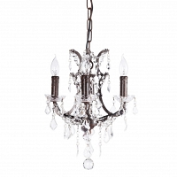 Люстра 19th C. Rococo Iron & Clear Crystal Round Vol.I DG Home Lighting