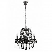 Люстра 19th C.Rococo Iron & Smoke Crystal Round Vol.I DG Home Lighting Zhongshan Rongde Lighting