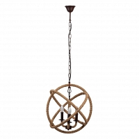 Люстра Foucault's Orb Rustic Iron DG Home Lighting Zhongshan Rongde Lighting