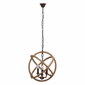 Люстра Foucault's Orb Rustic Iron DG Home Lighting Zhongshan Rongde Lighting DG-LL154
