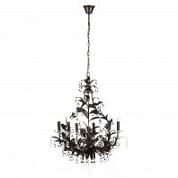 Люстра 19th C. Rococo Iron & Smoke Crystal Round Vol.II DG Home Lighting Zhongshan Rongde Lighting