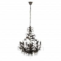 Люстра 19th C. Rococo Iron & Smoke Crystal Round Vol.II DG Home Lighting Zhongshan Rongde Lighting