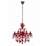Люстра 19th C. Rococo Iron & Smoke Crystal Round Vol.III DG Home Lighting Zhongshan Rongde Lighting