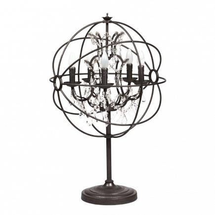 Настольная лампа Foucault's Orb Crystal DG Home Lighting Zhongshan Rongde Lighting DG-TL91