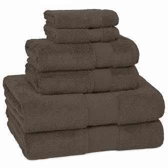 Полотенце банное Kassatex Elegance Towels Chocolate ELG-109-CHO