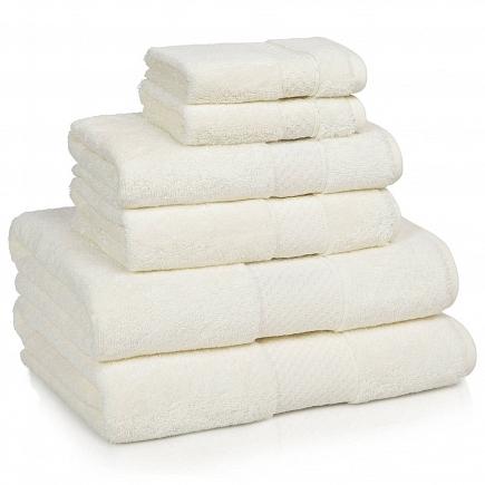 Полотенце банное Kassatex Elegance Towels Ivory ELG-109-IV
