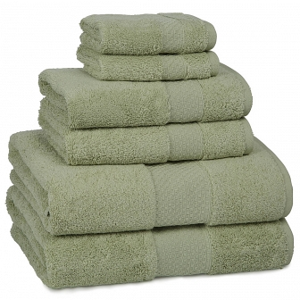 Полотенце банное Kassatex Elegance Towels Thyme ELG-109-TH