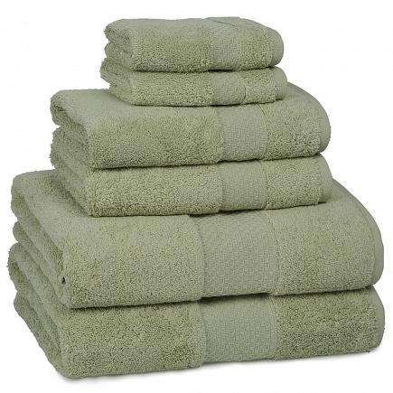 Полотенце банное Kassatex Elegance Towels Thyme ELG-109-TH