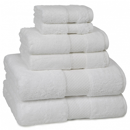 Полотенце банное Kassatex Elegance Towels White ELG-109-W