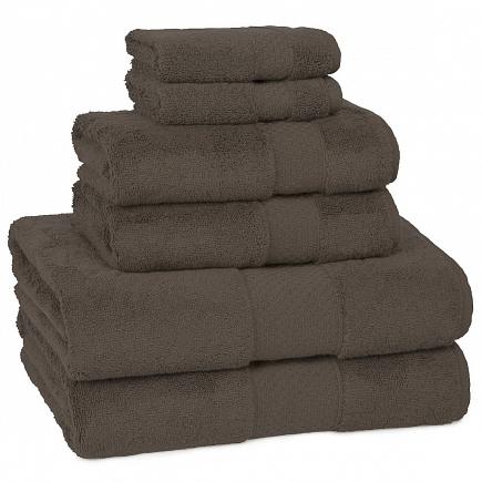Полотенце для рук Kassatex Elegance Towels Chocolate ELG-110-CHO