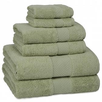Полотенце для рук Kassatex Elegance Towels Thyme ELG-110-TH