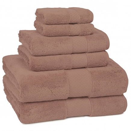 Полотенце банное Kassatex Elegance Towels Rosette ELG-113-RST