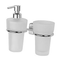 Держатель для стакана и дозатора для жидкого мыла FBS Esperado