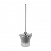 Ершик для туалета FBS Esperado с крышкой настенный (стекло)