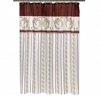 Шторка Carnation Home Fashions Shower Curtains Victorian Christmas