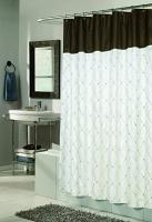 Шторка Carnation Home Fashions Balmoral White