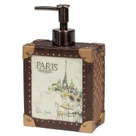 Дозатор для жидкого мыла Creative Bath I Love Paris