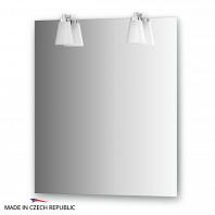 Зеркало со светильниками Ellux Laguna 65х75см