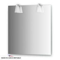Зеркало со светильниками Ellux Laguna 70х75см