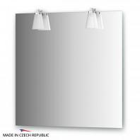 Зеркало со светильниками Ellux Laguna 75х75см