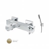 Смеситель для ванны и душа однорычажный в комплекте с ручным душем Cezares Legend