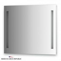 Зеркало со встроенными светильниками Ellux Linea Led 80х70см