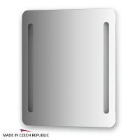 Зеркало со встроенными светильниками Ellux Linea Led 60х70см