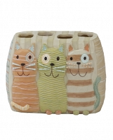 Стакан для зубных щеток Creative Bath Meow