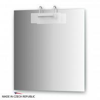 Зеркало со светильником Ellux Mode 70х75см