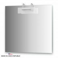 Зеркало со светильником Ellux Mode 80х75см
