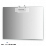 Зеркало со светильником Ellux Mode 100х75см