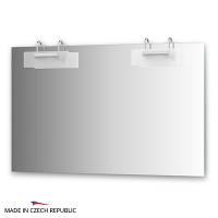 Зеркало со светильниками Ellux Mode 120х75см