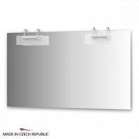 Зеркало со светильниками Ellux Mode 130х75см
