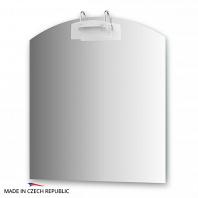 Зеркало со светильником Ellux Mode 80х90см