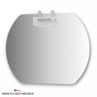Зеркало со светильником Ellux Mode 90х70см