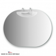 Зеркало со светильником Ellux Mode 90х64см