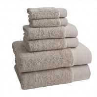 Полотенце для рук Kassatex Napa Marble  Tan