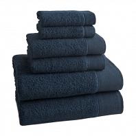 Полотенце для пальцев Kassatex Napa Petrol  Blue