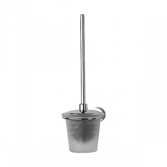 Ершик для туалета FBS Nostalgy с крышкой настенный (стекло) NOS 057