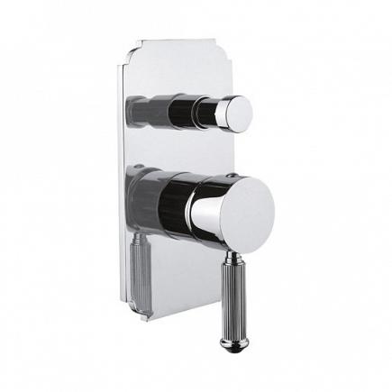 Встраиваемый однорычажный смеситель для душа Cezares Olimp с переключателем OLIMP-VDIM-01-L