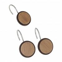 Набор из 12 крючков для шторки Carnation Home Fashions Hook Buttons