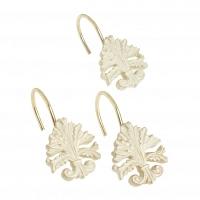 Набор из 12 крючков для шторки Carnation Home Fashions Fleur dis Lis