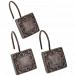 Набор из 12 крючков для шторки Carnation Home Fashions Lakewood Bronze