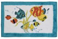 Коврик Creative Bath Rainbow Fish