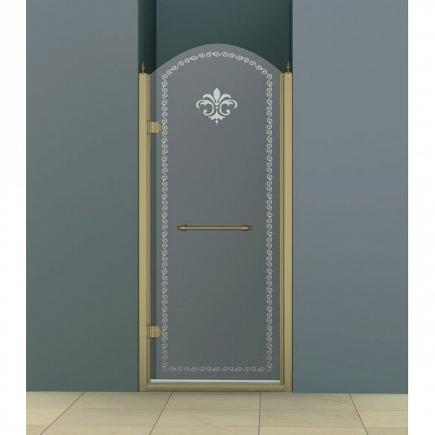Душевая дверь Cezares Retro RETRO-B-1-90-CP-Br-L