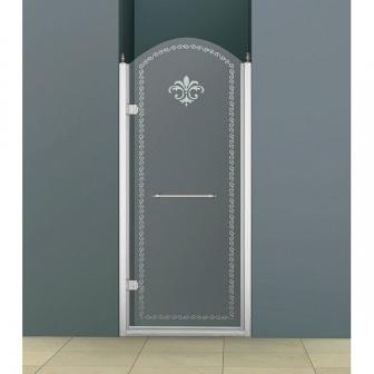 Душевая дверь Cezares Retro RETRO-B-1-90-CP-Cr-L