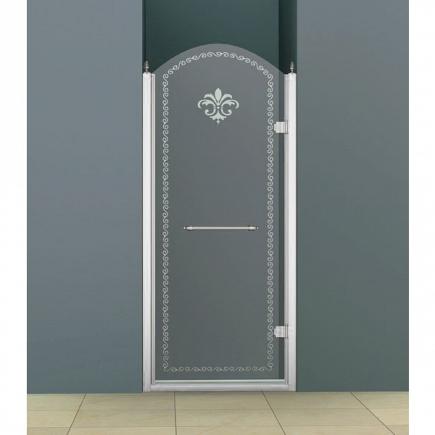 Душевая дверь Cezares Retro RETRO-B-1-90-CP-Cr-R