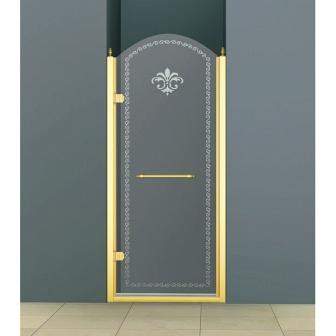 Душевая дверь Cezares Retro RETRO-B-1-90-CP-G-L