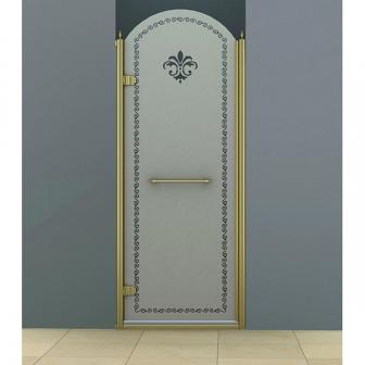 Душевая дверь Cezares Retro RETRO-B-1-90-PP-Br-L