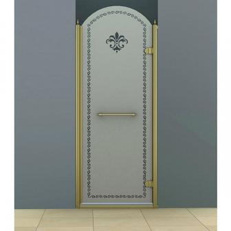 Душевая дверь Cezares Retro RETRO-B-1-90-PP-Br-R